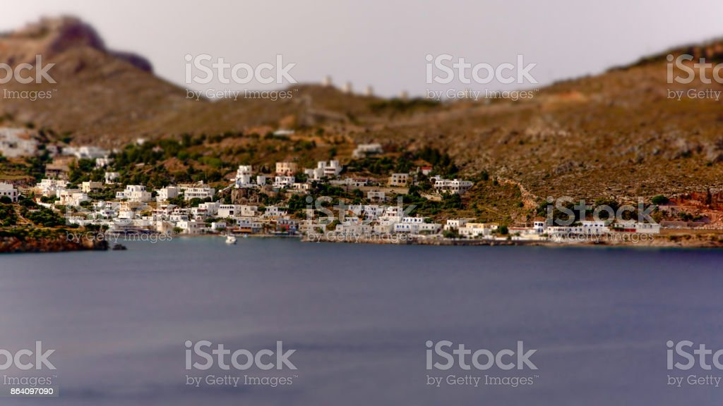 Village de Pandeli royalty-free stock photo