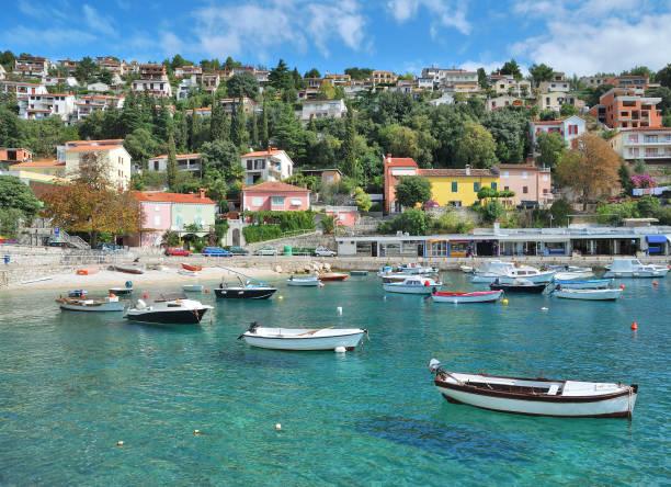 Dorf Rabac,Adria-Meer,Istrien,Kroatien – Foto