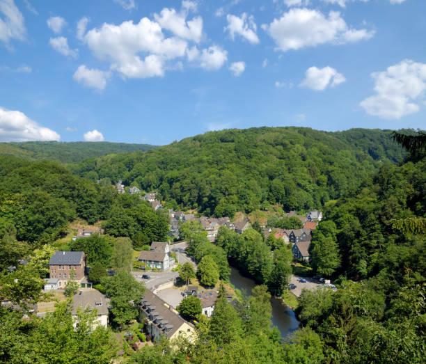 Dorf Solingen-Unterburg, Bergisches Land, Deutschland – Foto
