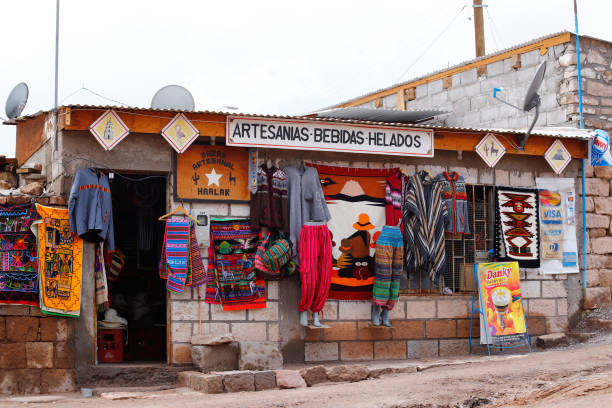 Dorf Toconao, San Pedro de Atacama, Chile – Foto