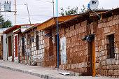 The village of Toconao, San Pedro de Atacama, Chile - February, 2019