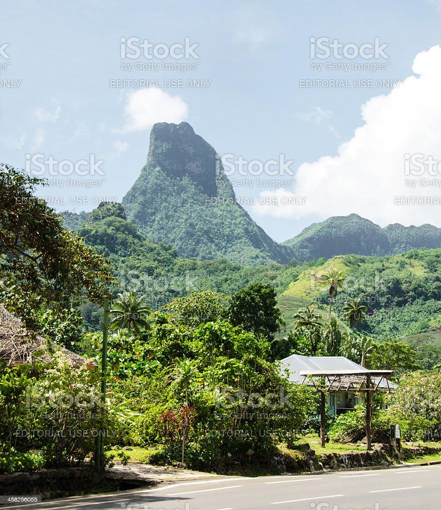 Village de l'île de Moorea - Photo
