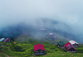 Montafon Valley, Village, Mountain, House, Horizon