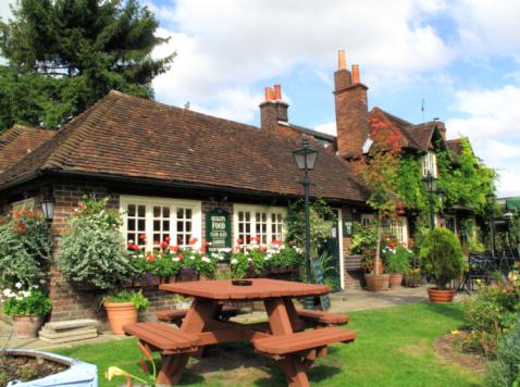 Village Pub Stock Photo - Download Image Now