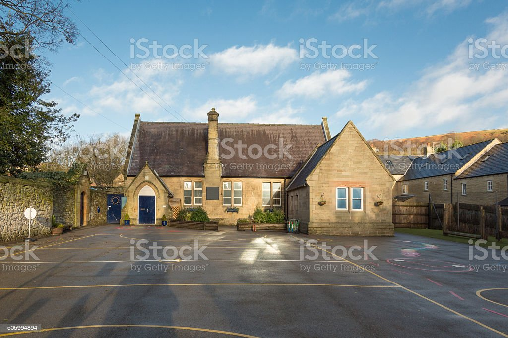 Village school - UK stock photo