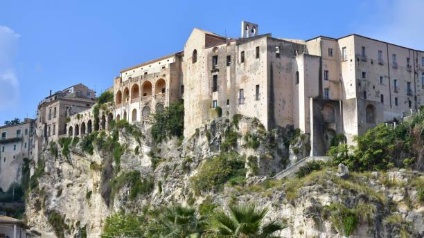 village Tropea in Calabria stock photo