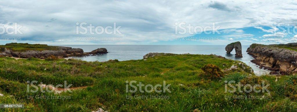 Villahormes Klippen und Canyons, Spanien. – Foto