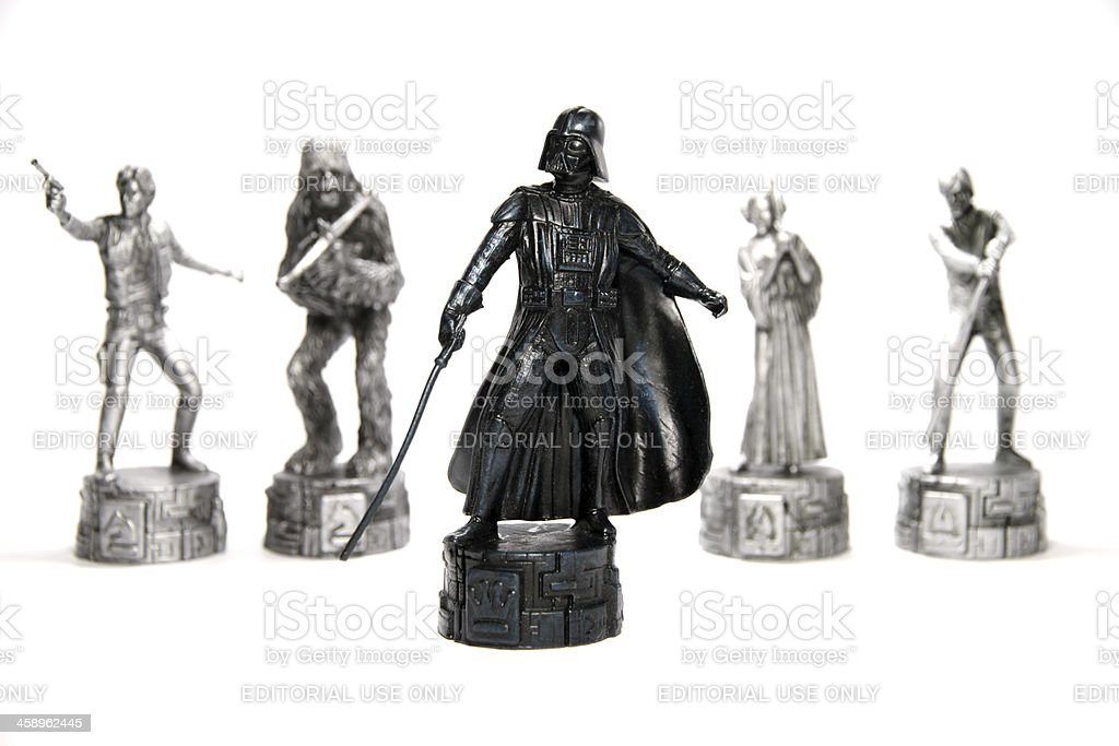 Villains and Heroes stock photo