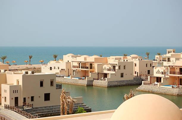 Villen im luxuriösen hotel, Ras Al Khaimah, VAE – Foto