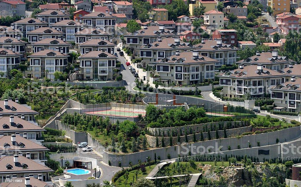 villa's royalty-free stock photo