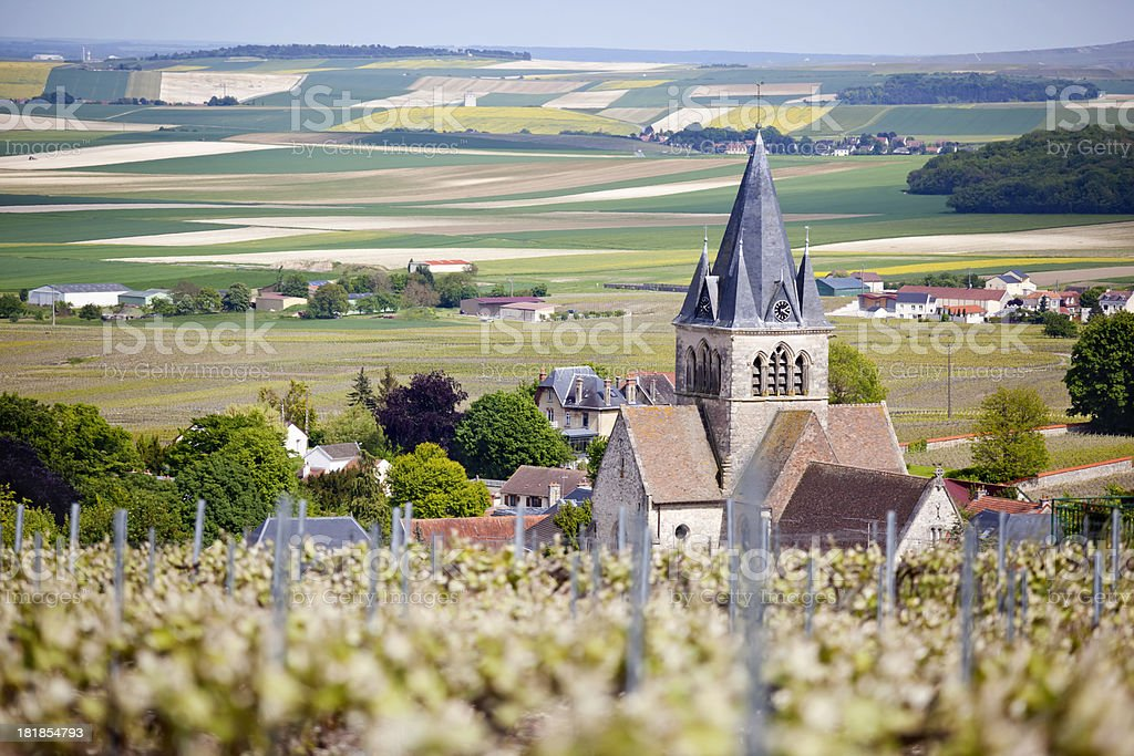 Ville-Dommange Champagne France stock photo