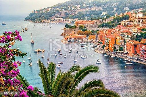 French Riviera village Villefranche-Sur-Mer