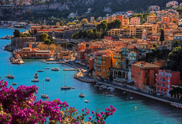 villefranche sur mer - france stock photos and pictures