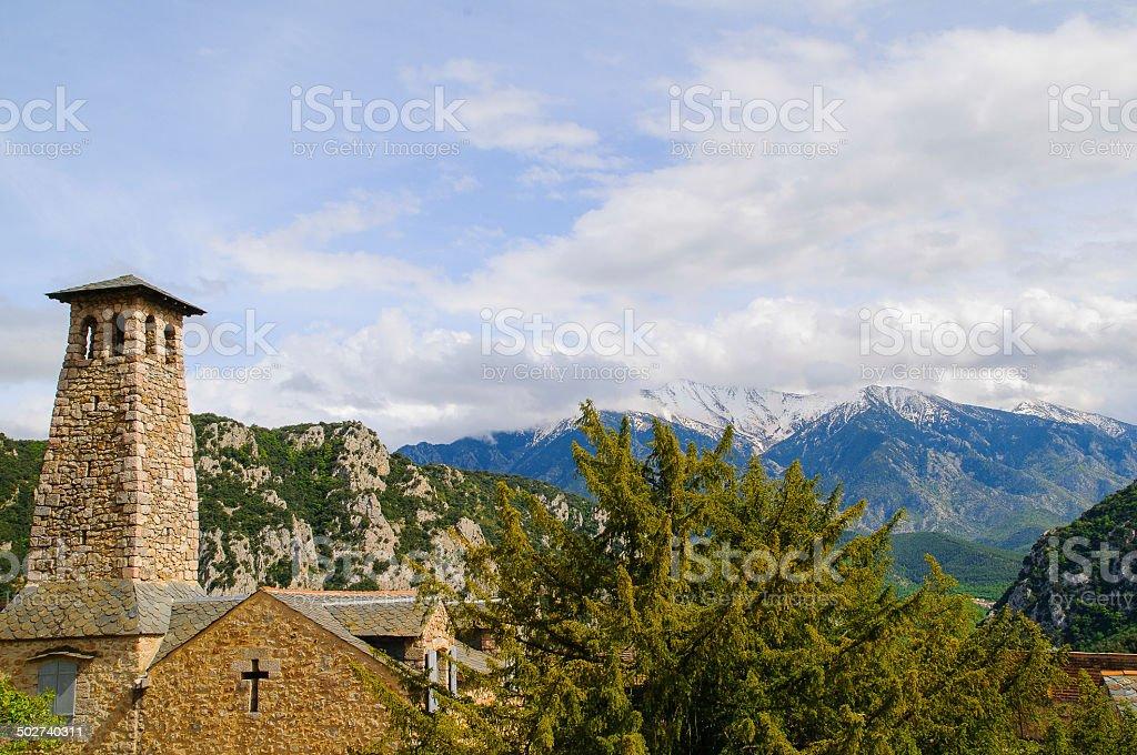 Villefranche-de-Conflent stock photo
