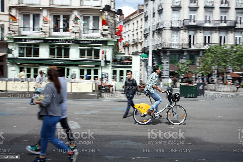 Villo! public bicycle sharing in Brussels