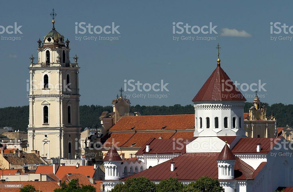 Vilnius Skyline I royalty-free stock photo