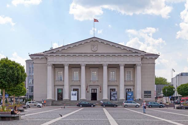 Vilnius Town Hall stock photo