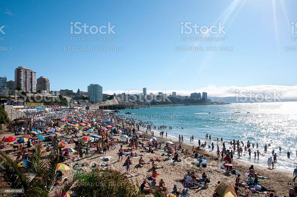 Vina Del Mar - Chile stock photo