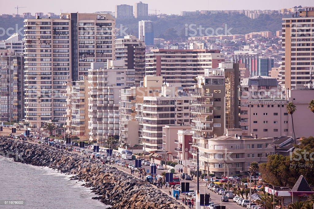Vina del Mar, Chile stock photo