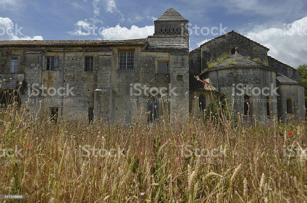 Vincent van Gogh's Asylum in Saint-Remy, France stock photo