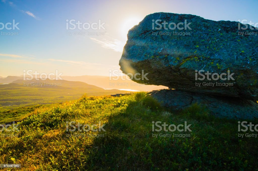 Vindafjord stock photo