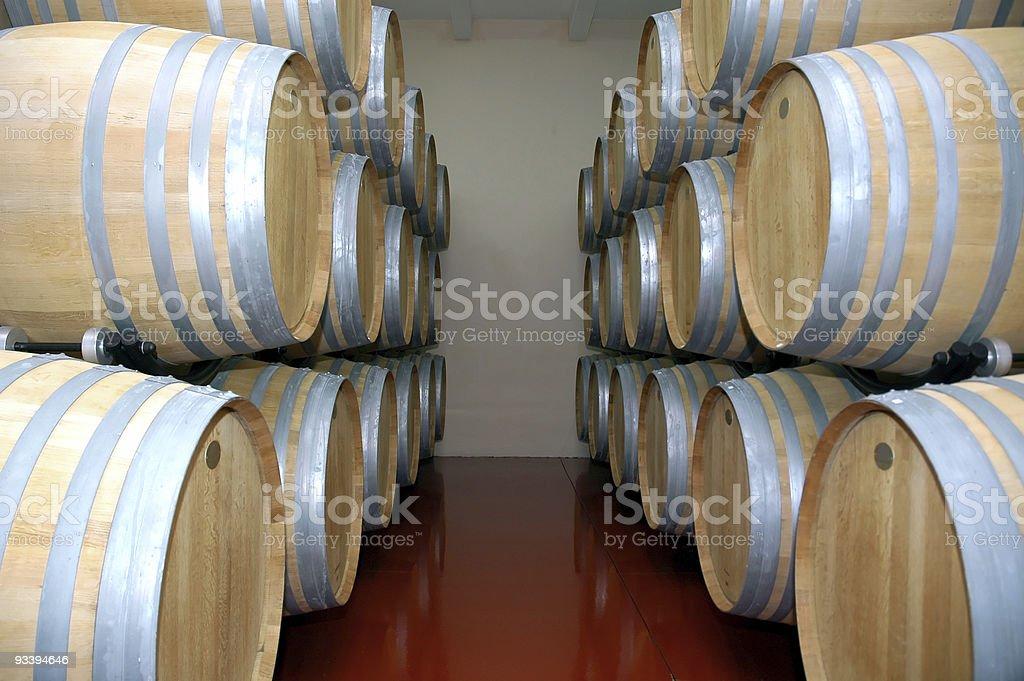 Vine cellars royalty-free stock photo