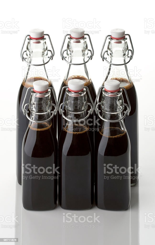 vinegar two row royalty-free stock photo