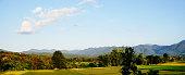 Rural Landscape With Pastures In Ireland