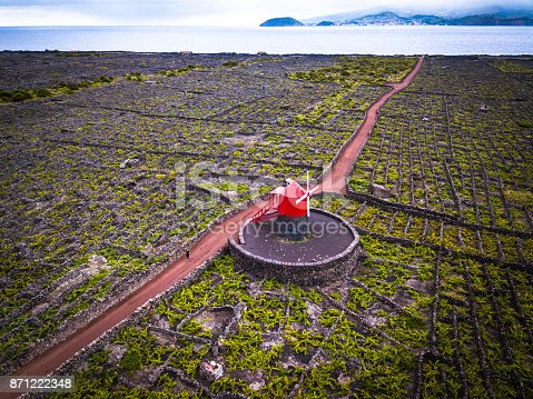 istock Vineyards of the Azores, Pico Island, Portugal 871222348