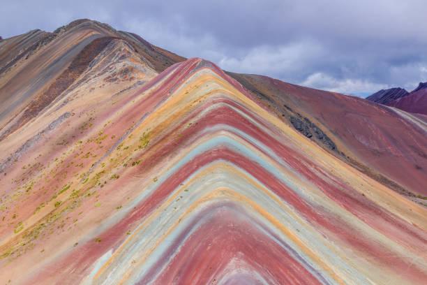Vinicunca, Region Cusco, Peru. – Foto