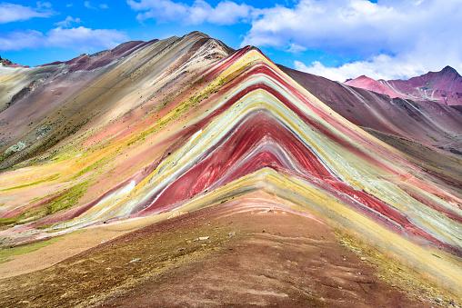 istock Vinicunca, Rainbow Mountain - Peru 700801224