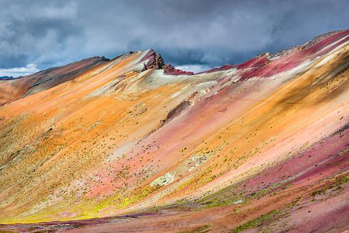 istock Vinicunca, Rainbow Mountain - Peru 865111810