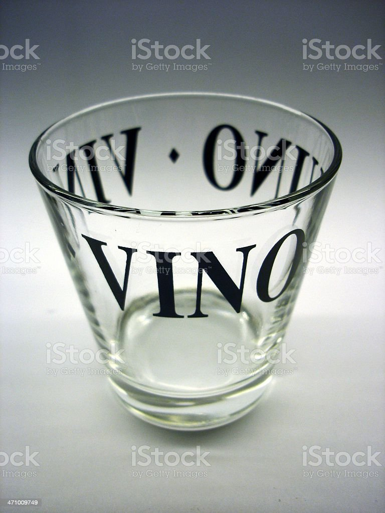 Vino glass royalty-free stock photo