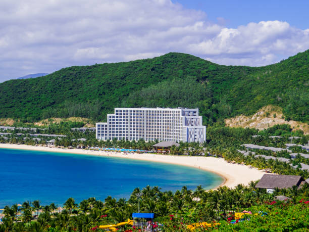 Vinpearl Resort & Spa Nha Trang Bay stock photo
