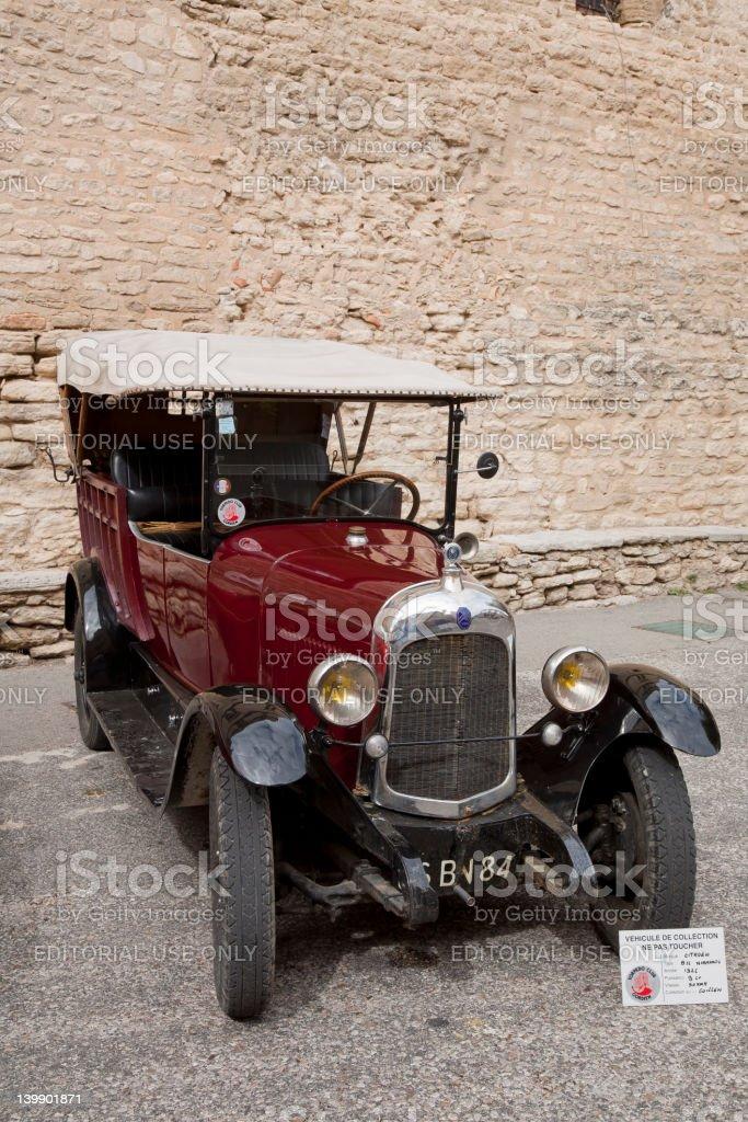 Vintage 1926 Citron9CV Automobile royalty-free stock photo