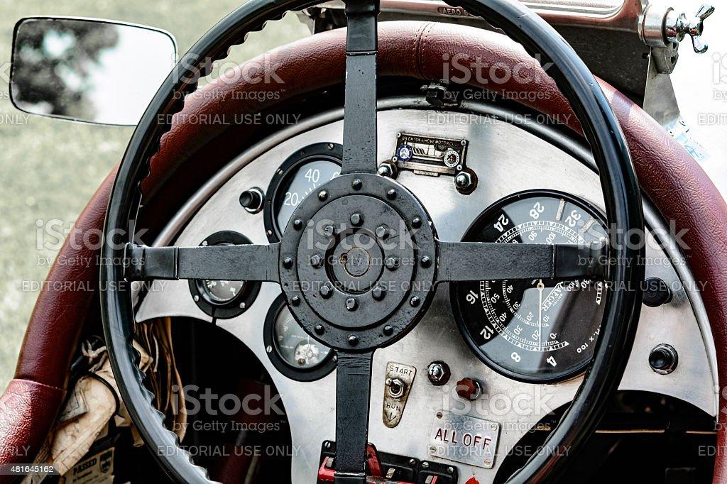 Vintage 1927 Bentley Le Mans voiture de course - Photo
