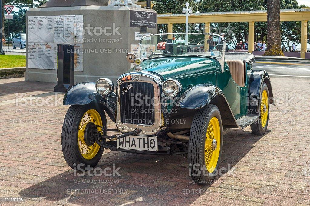 Vintage 1935 Austin Seven classic car stock photo