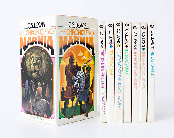 Vintage 70s C.S. Lewis Chronicles of Narnia Book Set