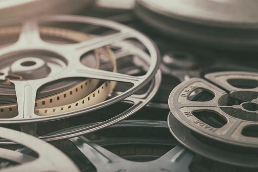 Vintage 8mm Film Reels of Home Movies History and Memories