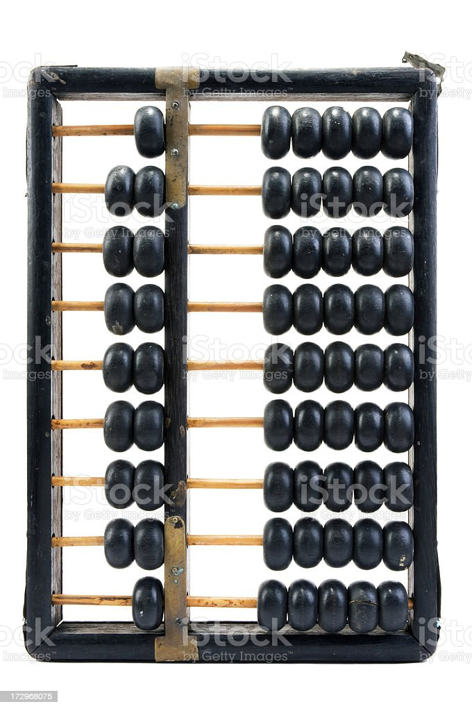 Vintage Abacus stock photo