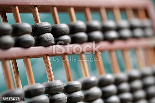 istock Vintage abacus 876473778