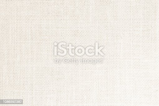 1044099896 istock photo Vintage abstract Hessian or sackcloth fabric texture background. Wallpaper of artistic wale linen canvas. Blanket or Curtain of cotton pattern background with copy space for text decoration. 1086592382