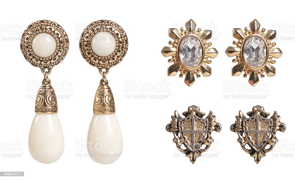Vintage accessories stock photo