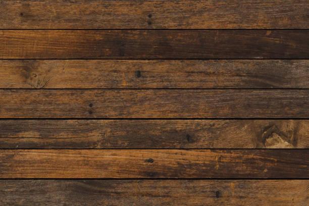 빈티지 세 다크 브라운 컬러 나무 줄무늬 배경 디자인 프리 젠 테이 션, 홍보 제품, 사진 몽타주, 배너, 광고 및 웹 - 목재 재료 뉴스 사진 이미지
