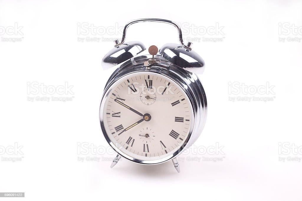 Vintage alarm clock royalty-free stock photo