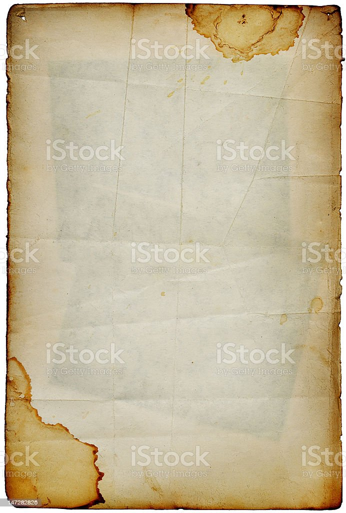 Vintage album page royalty-free stock photo