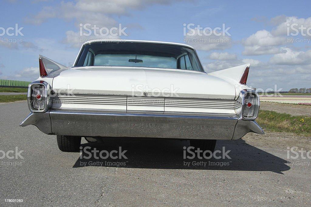 Vintage American car stock photo