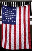 istock Vintage american flag 147011174