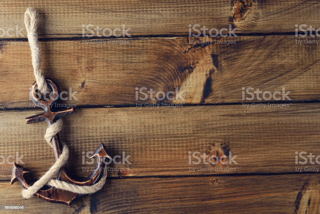 Vintage anchor royalty-free stock photo