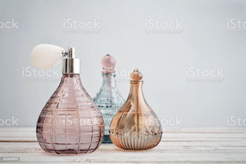 Botellas antiguas vintage - foto de stock
